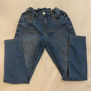 SEVEN7 Elastic Waist Skinny Jeans Size 12